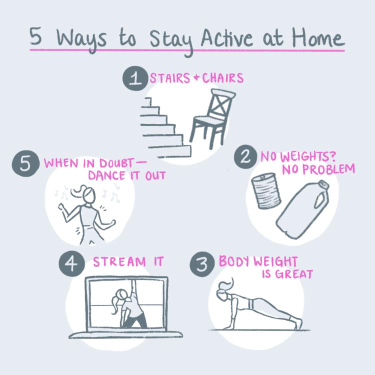 5WaystoStayActive-BlogIllustration-April2020-V1